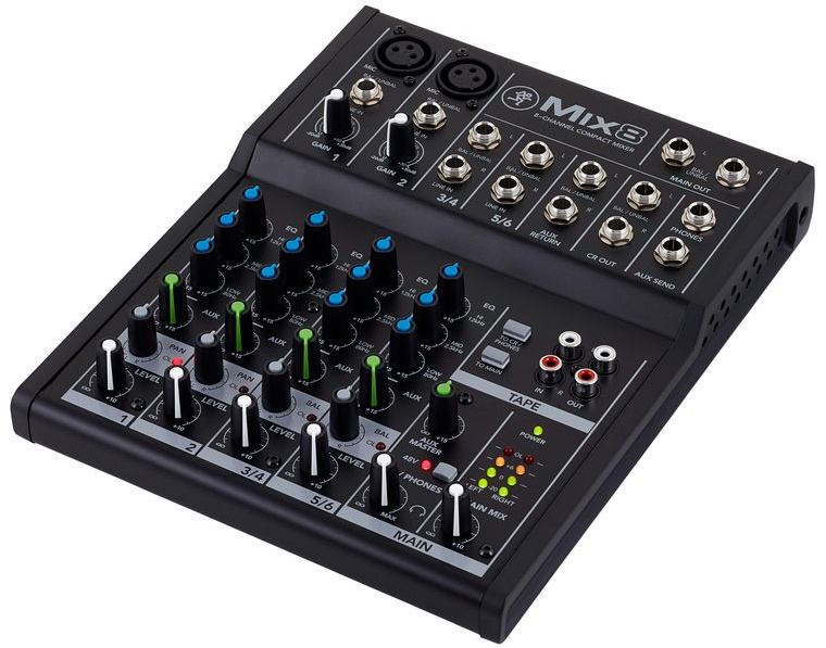 Sound - 8 Channel Mixer