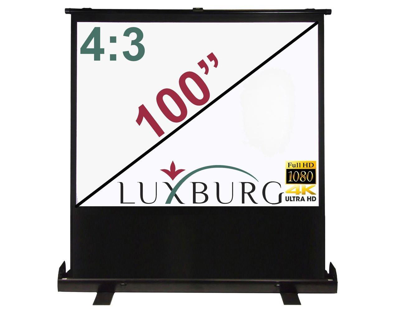 Visual - Pull up projection screen