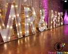 Giant Letters - MR & MRS