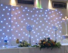 Lighting - 6m x 3m Starlit white backdrop