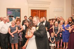 David & Sarah's Wedding, Masonic Hall, Bristol