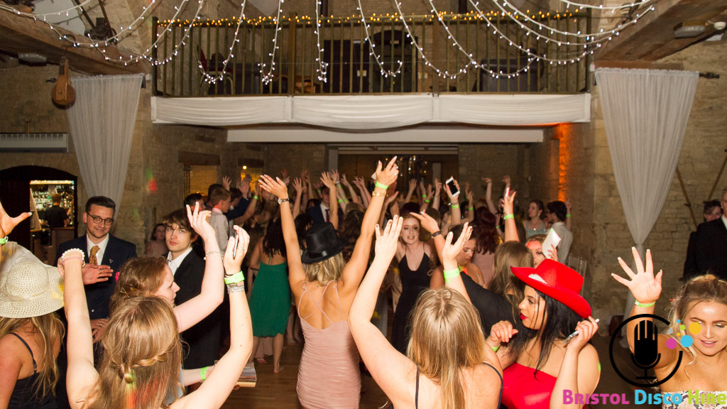Year 13 Leavers disco - Great Tythe Barn - July 2017