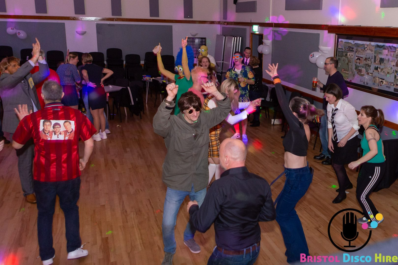 Kingswood Village Hall - 90's music only!